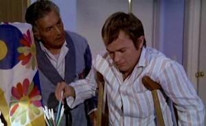 Aldo De Franchi e Lou Castel, due ospiti del cronicario