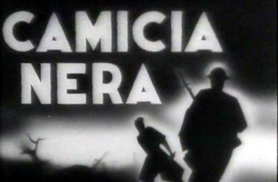 Fotogramma del titolo del film realizzato da Giovacchino Forzano in occassione del ventennale della nascita del fascismo