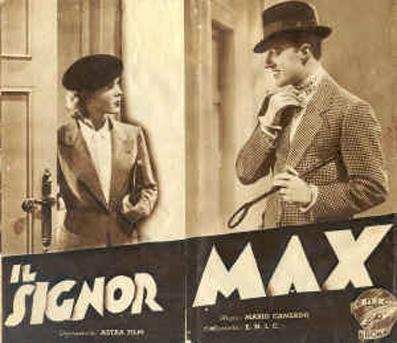 Locandina de Il signor Max 1937